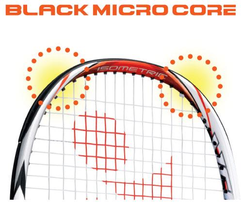 Black Micro Core - Yonex tennis Italia